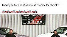 Drumheller Chrysler Celebrating 20 Years!