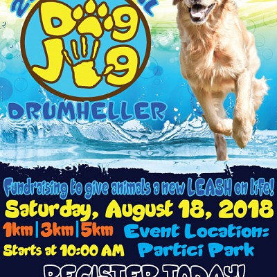 Register Now! 2nd Annual Dog Jog 2018 Fundraiser