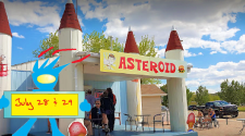 Asteroid - Fundraiser! July 28 - 29 Great Burgers & Ice Cream!