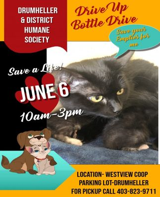 Drive Up Bottle Drive June 6th Westview Coop!